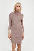 Платье женское Finn Flare, цвет серо-сиреневый, размер 2XL
