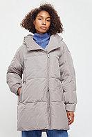 Полупальто женское Finn Flare, цвет светло-коричневый, размер 2XL