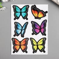 Наклейки Decoretto 'Бабочки из тропиков' 17х23 см