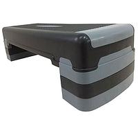 Степ-платформа Sundays Fitness IR97317 (черный/серый)