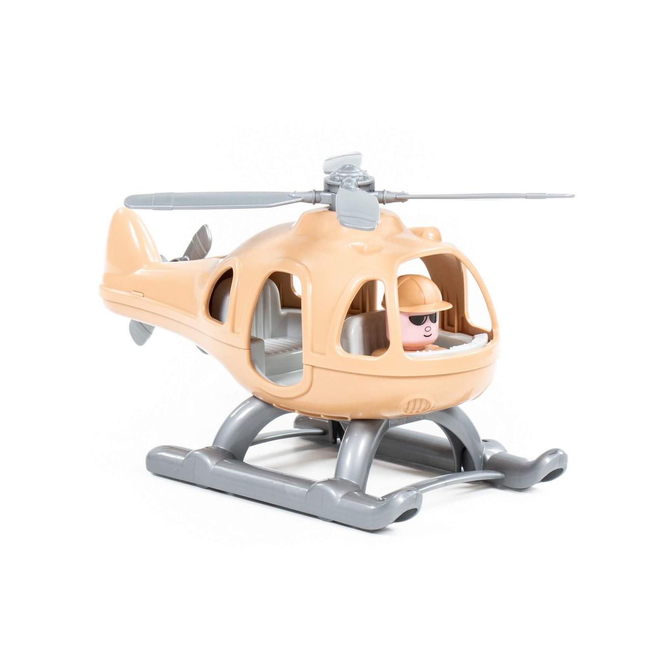 Игрушка вертолёт военный Гром-Сафари, Полесье - фото 1