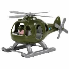 Игрушка вертолёт военный Гром-Сафари, Полесье - фото 2