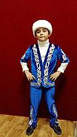 Детский национальный костюм для мальчиков (шапан с коротким рукавом