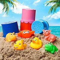 Игрушки для купани пирамидки