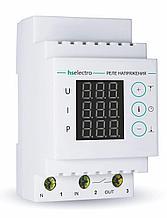Реле напряжения с контролем тока и мощности МР-63с