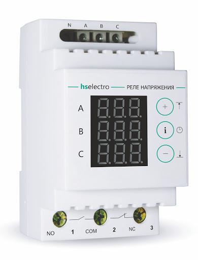 Реле контроля фаз УКН-380с HS electro