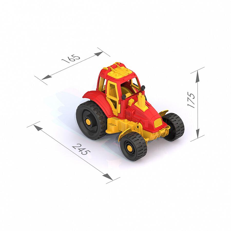 Игрушка трактор, Нордпласт - фото 3
