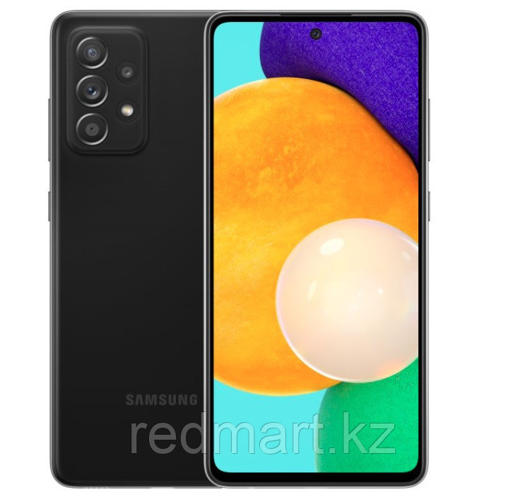Смартфон Samsung Galaxy A52 8/256Gb черный - фото 1