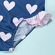 Купальник детский сердечки, фото 4