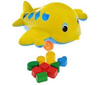 Игрушка самолет Кит с логическими фигурами, Совтехстром