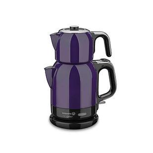 Турецкий электрический чайник/самовар Korkmaz Lavender/Chrome 0,9 л, и 1,7 л