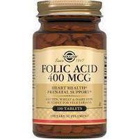 Solgar (Солгар) Фолиевая Кислота 400 мг 100 капсул