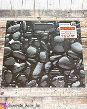 Весы электронные напольные. Материал: Стекло. Цвет: Черный. Предел нагрузки: 180кг.