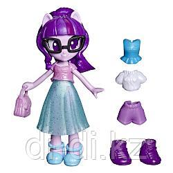 Hasbro MLP. Пони  Девочки из Эквестрии с нарядами Сумеречная Искорка E9248