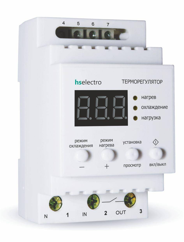 Терморегулятор ТР16у DIN