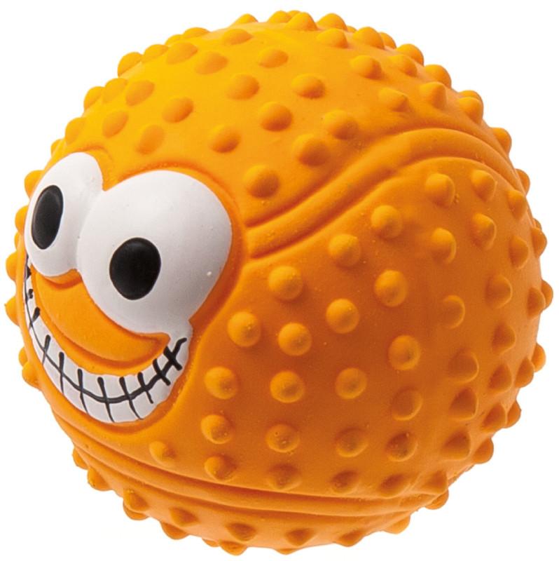 Игрушка для животных Мячик с глазами