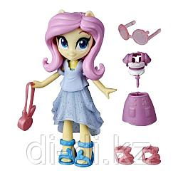 Hasbro MLP. Пони  Девочки из Эквестрии с нарядами Флаттершай E9250