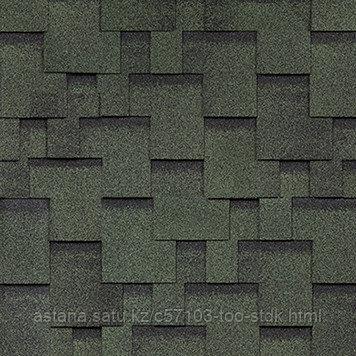 SHINGLAS однослойная черепица, Финская, Аккорд Зеленый