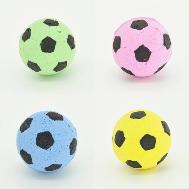 Игрушка для кошек Мячик футбольный
