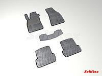 Коврики в салон Audi A4 2001-2009 (Клетка)