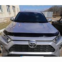 Мухобойка (дефлектор капота) Toyota RAV4 2019+