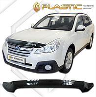 Мухобойка (дефлектор капота) Subaru Outback/Legacy 2010-2014 USA type