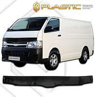 Мухобойка (дефлектор капота) Toyota Hiace 2005+ L Cargo, LL Cargo