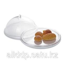 """Колпак для блюд (клош) - """"витрина"""", с подносом, стекло, 26 см"""