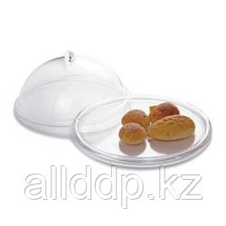 """Колпак для блюд (клош) - """"витрина"""", с подносом, стекло, 32 см"""