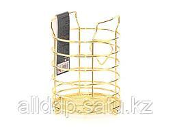 8930 FISSMAN Подставка для кухонных инструментов GOLD