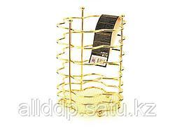 8932 FISSMAN Подставка для кухонных инструментов GOLD