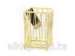 8934 FISSMAN Подставка для кухонных инструментов GOLD