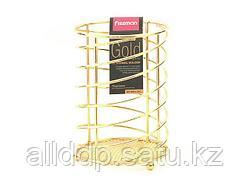 8931 FISSMAN Подставка для кухонных инструментов GOLD