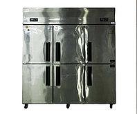 Шкаф холодильный, комбинированный, 1120 л, нержавеющая сталь