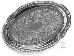 9420 FISSMAN Поднос металлический овальный 31х22 см хромированный