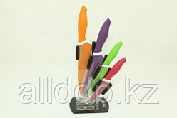2655 FISSMAN Набор ножей 5 пр. SAMBUCA на акриловой подставке (нерж. сталь)