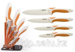 2666 FISSMAN Набор ножей 5 пр. SOFI на акриловой подставке (керамические лезвия)