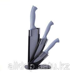 2677 FISSMAN Набор ножей 4 пр. GOBI на акриловой подставке (сталь с антиприлипающим покрытием)