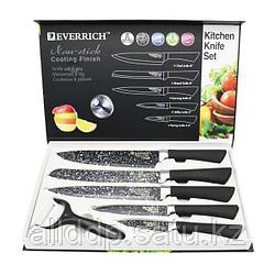 """Набор кухонных ножей """"Everrich"""" ER-0157, 6 предметов"""