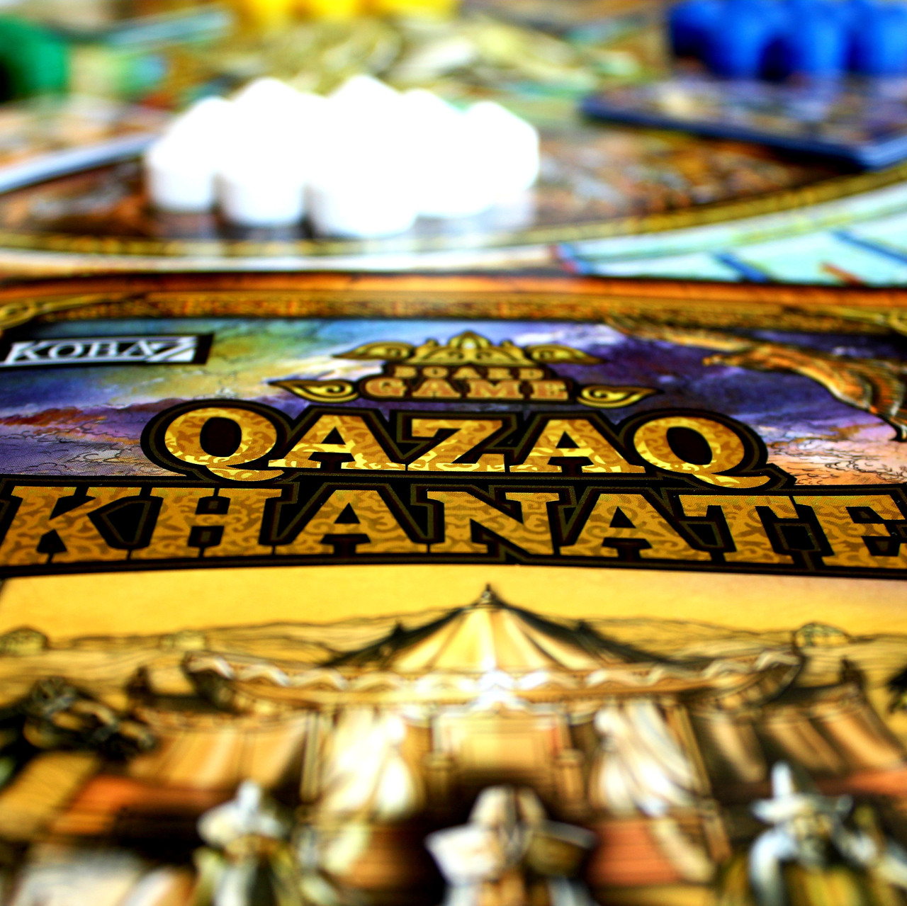 """Board game """"Qazaq Khanate"""" - фото 1"""