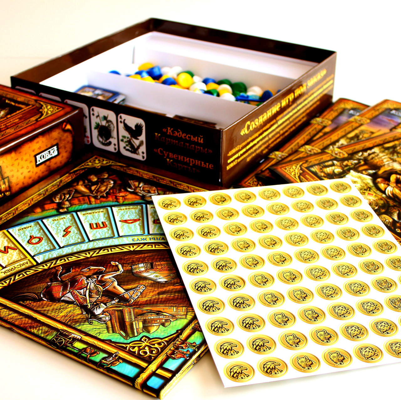 """Board game """"Qazaq Khanate"""" - фото 7"""