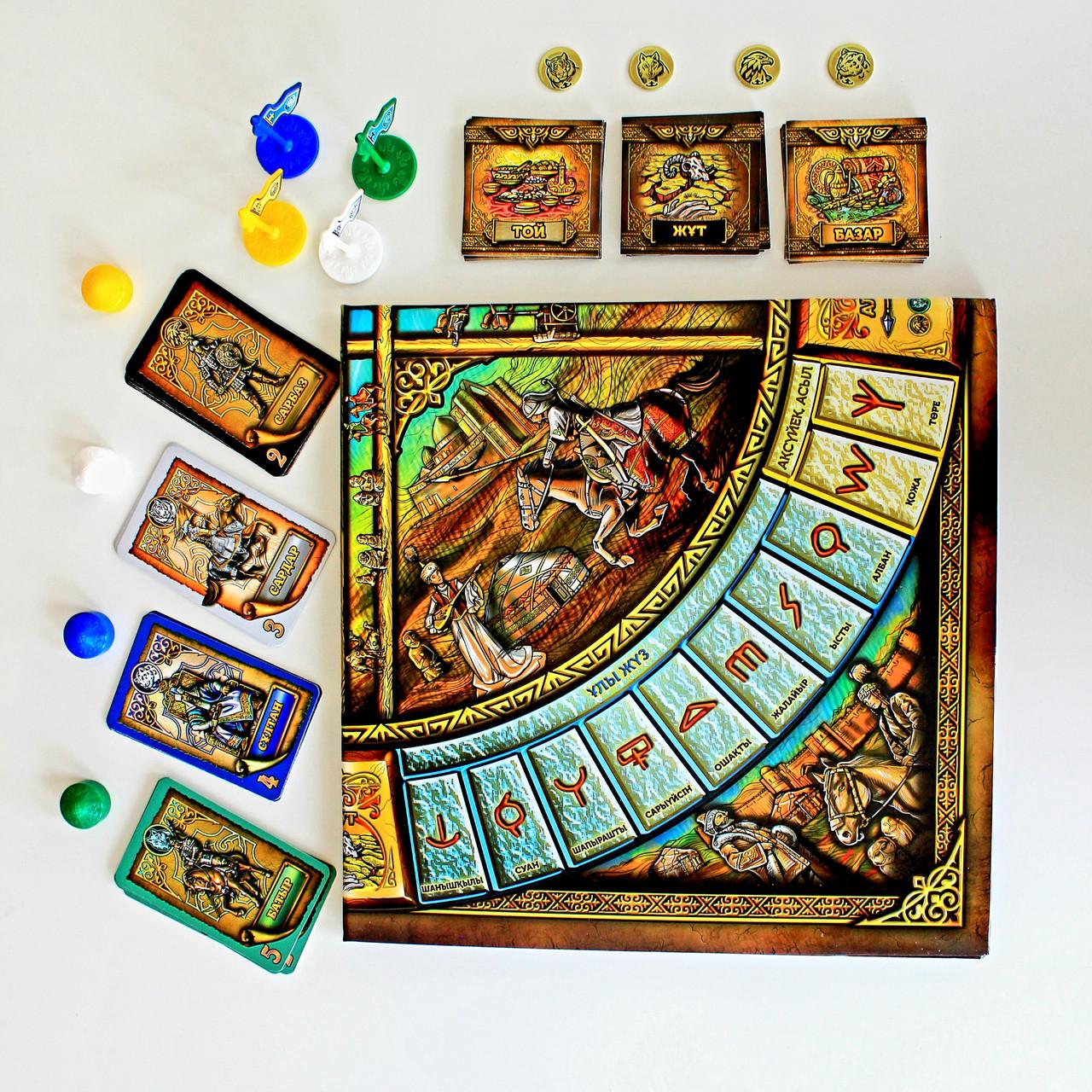 """Board game """"Qazaq Khanate"""" - фото 8"""