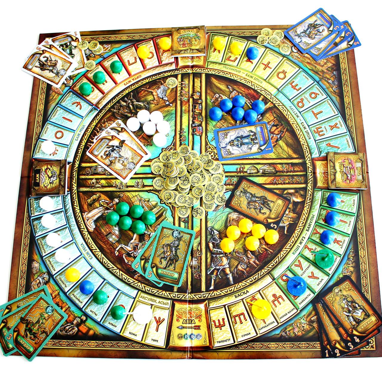 """Board game """"Qazaq Khanate"""" - фото 10"""