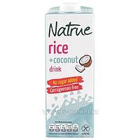 """Напиток рис.-кокос. без добав. сахара 1л, т.м. """"Natrue"""", Испания"""
