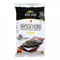 Чипсы Нори из морской капусты 4,5гр (SEN SOY) (Original)