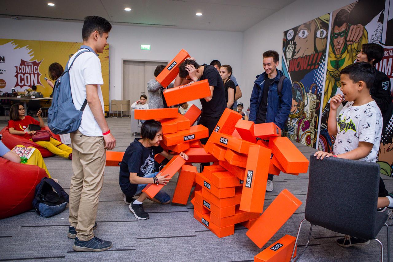 Прокат настольной игры Гигантской башни Jenga - фото 7