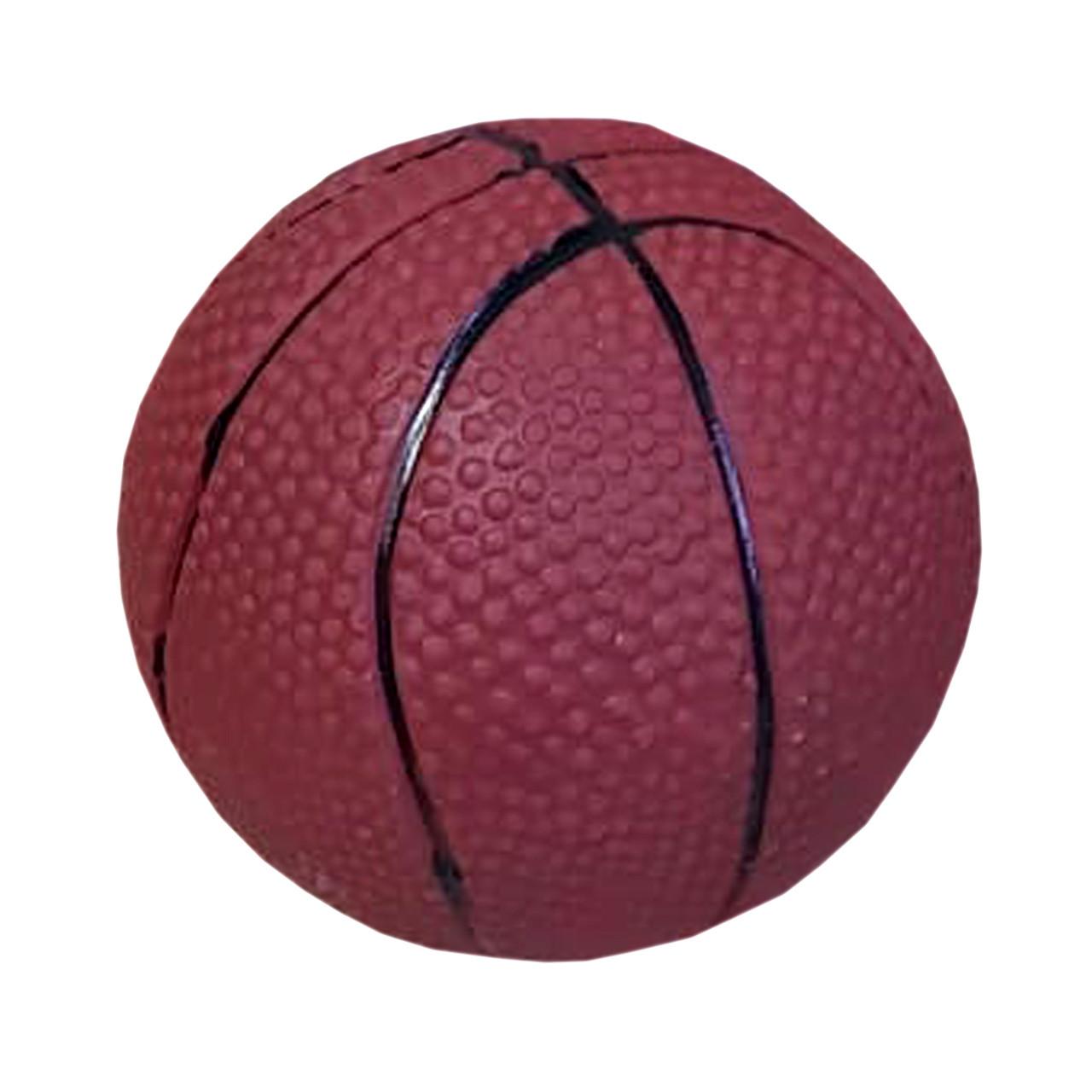 Игрушка пищащая для собак Мяч баскетбол