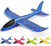 Пенопластовый самолёт (большой) 46 см в ассортименте разных цветов
