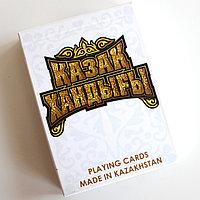 Сувениная колода карт Қазақ Хандығы картон