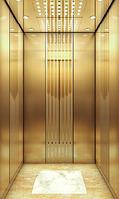 Лифт пассажирский DP Champagne gold